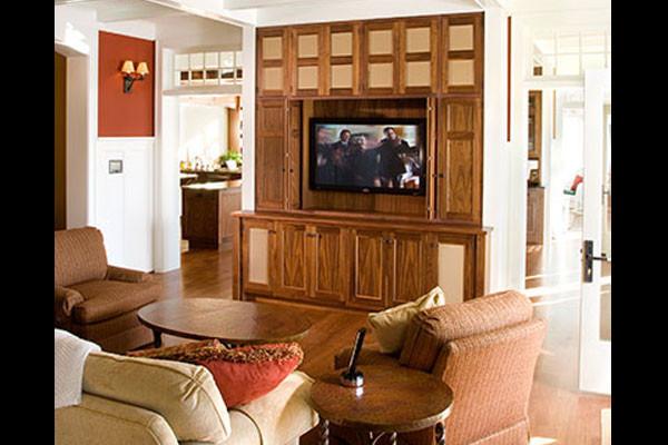 The Little Guys Living Room TV Setup